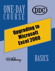 Cover of: Upgrading to Microsoft Excel 2000