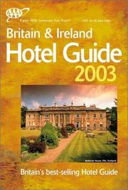Cover of: AAA Britain & Ireland Hotel Guide 2003 | American Automobile Association.