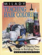 Cover of: Teaching Hair Coloring (Milady) | Wizetich