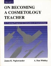 Cover of: On Becoming a Cosmetology Teacher (Milady)
