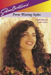 Cover of: SalonOvations' perm waving styles
