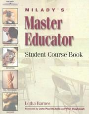 Cover of: Master Educator's Student Course Book