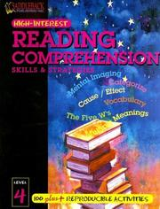Cover of: Reading Comprehension Skills & Strategies Level 4 (Highinterest Reading Comprehension Skills & Strategies)