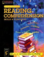 Cover of: Reading Comprehension Skills & Strategies Level 5 (Highinterest Reading Comprehension Skills & Strategies)