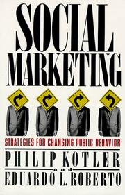 Social marketing by Philip Kotler