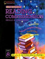Cover of: Reading Comprehension Skills 8 (High-Interest Reading Comprehension Skills & Strategies) |