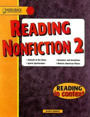 Cover of: Reading Nonfiction 2 (Reading in Context)