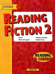 Cover of: Reading Fiction 2 (Reading in Context)