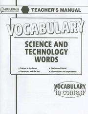 Cover of: Science and Technology (Vocabulary in Context)