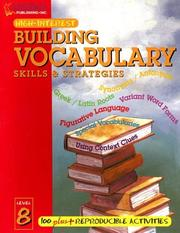 Cover of: Building Vocabulary Skills and Strategies Level 8 (Highinterest Building Vocabulary Skills & Strategies)