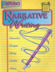 Cover of: Narrative Writing (Writing 4 Series) | Emily Hutchinson