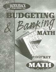 Cover of: Budgeting & Banking Teacher Notes (Practical Math in Context)