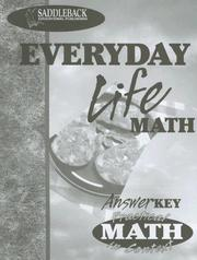 Cover of: Everyday Life Teacher Notes (Practical Math in Context)