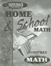 Cover of: Home & School Teacher Notes (Practical Math in Context)