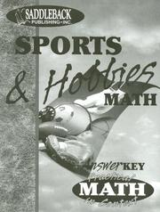 Cover of: Sports & Hobbies Teacher Notes (Practical Math in Context) | Mary Ann Frishman
