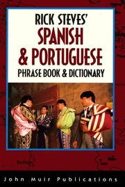 Cover of: Rick Steves' Spanish & Portuguese Phrase Book & Dictionary