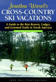 Cover of: Jonathan Wiesel's cross-country ski vacations | Jonathan Wiesel