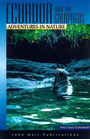 Cover of: Ecuador and the Gal`apagos islands