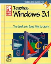 Cover of: PC Learning Labs Teaches Windows 3.1