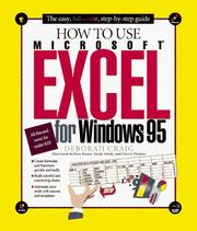 Cover of: How to use Microsoft Excel for Windows 95