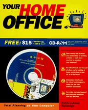 Cover of: Your home office: total planning on your computer