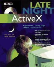 Cover of: Late night ActiveX | Eric Tall