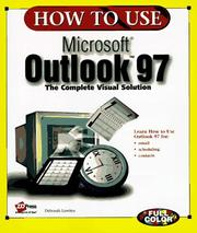 Cover of: How to Use Microsoft Outlook 97 (How to Use Series)