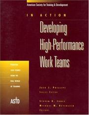 Cover of: Developing high-performance work teams |