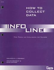 Cover of: How to Collect Data (Infoline)