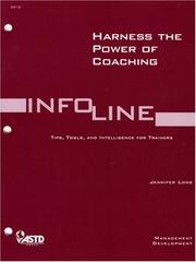 Cover of: Harness the Power of Coaching