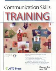 Cover of: Communication Skills Training (ASTD Workshop)