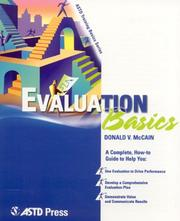 Cover of: Evaluation basics