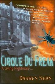 Cover of: Cirque du Freak | Darren Shan