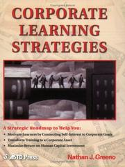 Cover of: Corporate Learning Strategies