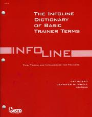 Cover of: Dictionary of Basic Trainer Terms