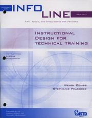 Cover of: Instructional Design for Technical Training