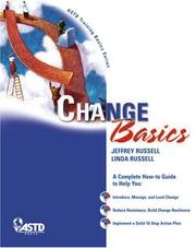 Cover of: Change Basics | Jeffrey Russell