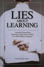 Cover of: Lies About Learning | Larry Israelite
