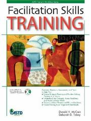 Cover of: Facilitation Skills Training (Astd Trainer's Workshop Series) (Astd Trainer's Workshop Series)