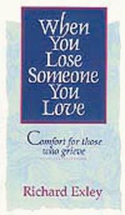 Cover of: When You Lose Someone You Love