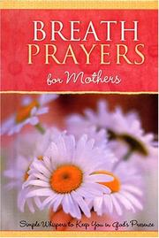 Cover of: Breath Prayers for Mothers