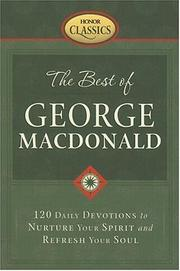 Cover of: The Best of George Macdonald