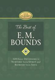 Cover of: The Best of E. M. Bounds