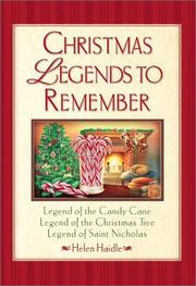 Cover of: Christmas legends to remember