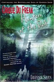 Cover of: Hunters of the dusk