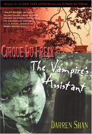 Cover of: The Vampire's Assistant (Cirque du Freak, Book 2)