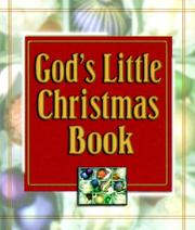 God's Little Christmas Book-Mini by