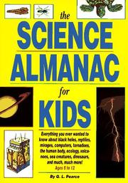 Cover of: The science almanac for kids