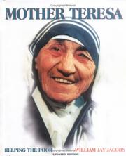Cover of: Mother Teresa, Jacobs, 2-4  Re (Gateway Biographies)