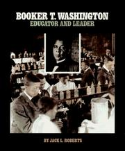 Cover of: Booker T. Washington | Jack L. Roberts